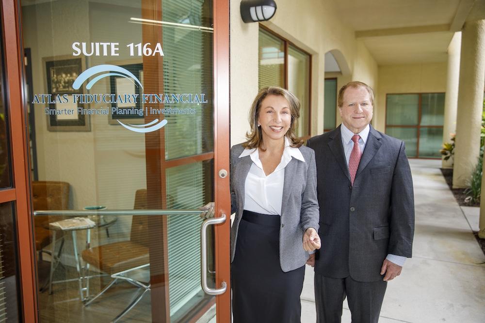 Laura Mattia and Steve Craffen of Atlas Fiduciary Financial