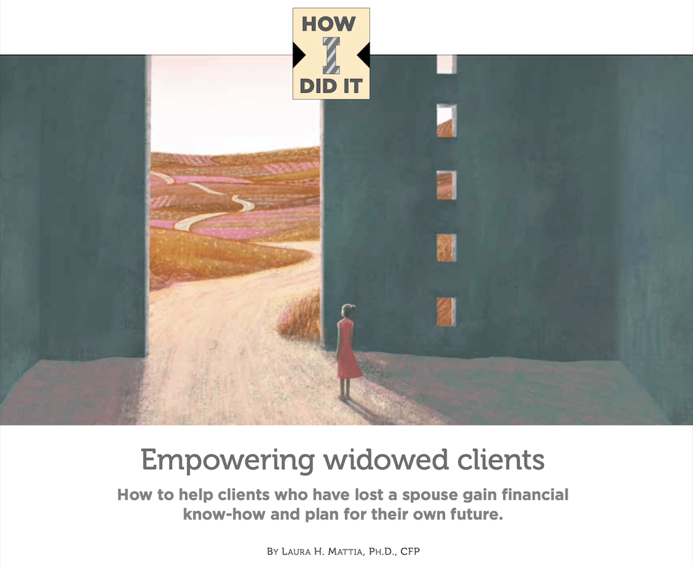 Empowering Widow Clients - Round the Table Magazine